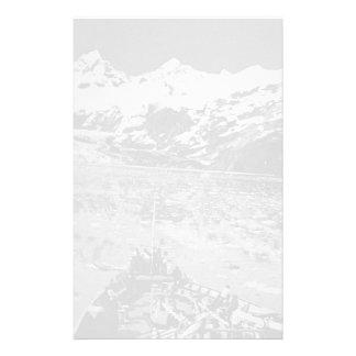 USA Alaska glacier bay national monument 1970 Personalized Stationery