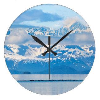 USA, Alaska, Glacier Bay National Park 7 Large Clock