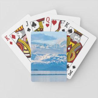 USA, Alaska, Glacier Bay National Park 7 Poker Deck
