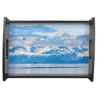 USA, Alaska, Glacier Bay National Park 7 Serving Platter