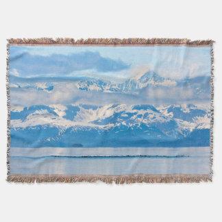 USA, Alaska, Glacier Bay National Park 7 Throw Blanket