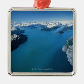 USA,Alaska,Glacier Bay National Park,aerial view Christmas Ornament