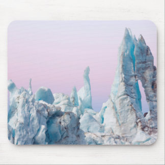 USA, Alaska, Glacier Bay National Park. Margerie Mouse Mat