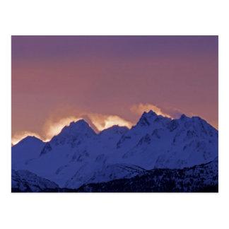 USA, Alaska, Homer. Sunrise over the Kenai Post Card