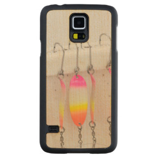 USA, Alaska, Hoonah. Commercial Salmon Fishing Maple Galaxy S5 Slim Case