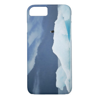 USA, Alaska, Inside Passage. Bald eagle perched iPhone 8/7 Case