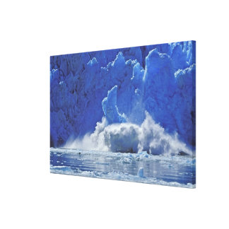 USA, Alaska, Juneau. Part of South Sawyer Canvas Print