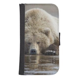 USA, Alaska, Katmai National Park, Brown Bear 4 Samsung S4 Wallet Case