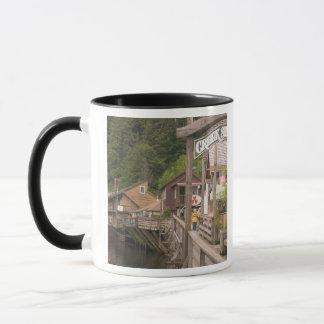 USA, Alaska, Ketchikan, Creek Street, downtown Mug