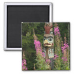 USA, Alaska, Ketchikan, Totem Bight State Magnets