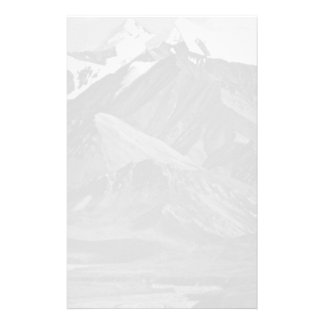 USA Alaska Mt Mckinley national park 1970 Personalized Stationery