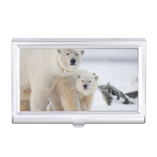 USA, Alaska, North Slope, 1002 Area 3 Business Card Holder
