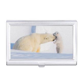 USA, Alaska, North Slope, 1002 Area 4 Business Card Holder