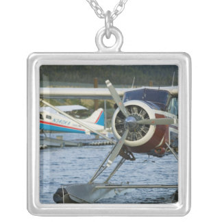 USA, ALASKA, Southeast Alaska, KETCHIKAN: Silver Plated Necklace