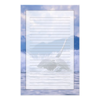 USA, Alaska, Tongass National Forest, Humpback 4 Stationery