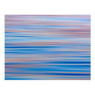 USA Alaska Water Abstract At Sunset Postcards