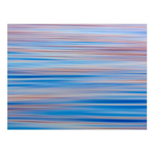 USA, Alaska. Water Abstract At Sunset Postcards