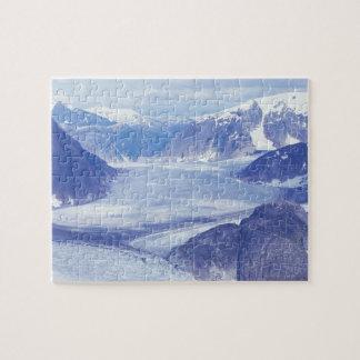 USA, Alaska, Wrangell-St Elias NP, Leconte Jigsaw Puzzle