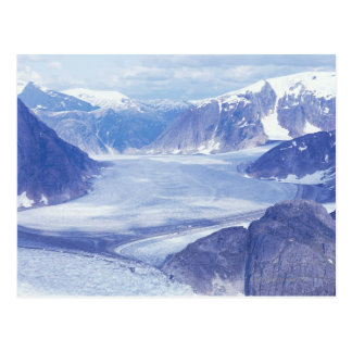 USA, Alaska, Wrangell-St Elias NP, Leconte Postcard