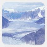 USA, Alaska, Wrangell-St Elias NP, Leconte Square Sticker