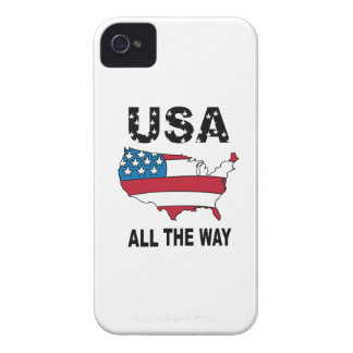USA All The Way iPhone 4 Cases
