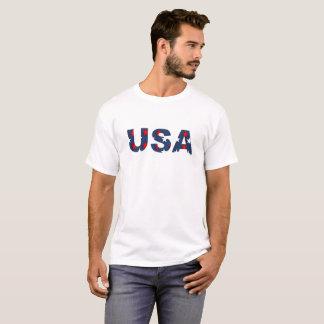 USA America Stars Red White Blue Patriotic Shirt