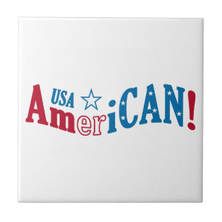 USA AmeriCAN! custom tile