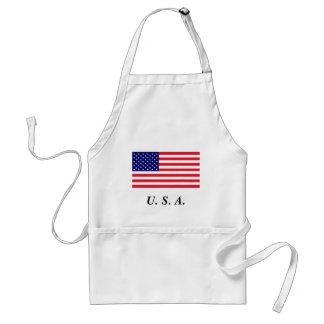 USA - American Flag Apron