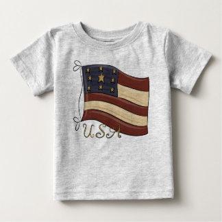 USA American Flag Baby T-Shirt