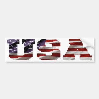 USA American Flag Bumper Sticker Car Bumper Sticker