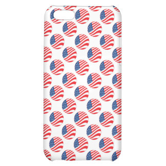 USA American Flag Fourth of July Patriotic iPhone 5C Covers