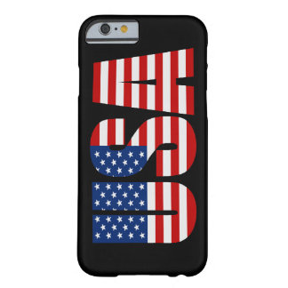 USA American Flag iPhone 6 case Barely There iPhone 6 Case
