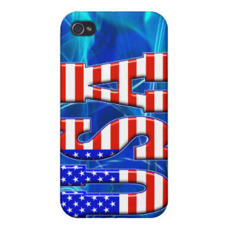 USA AMERICAN FLAG iPhone 4 COVERS