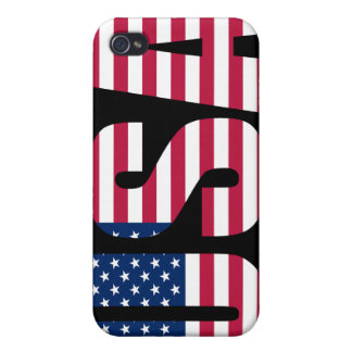 USA American Flag iPhone case iPhone 4 Cases