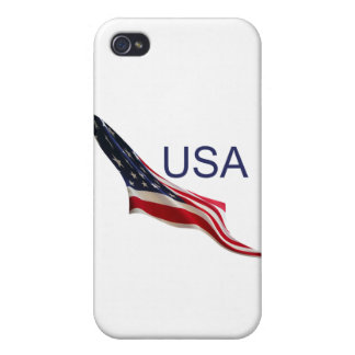USA American Flag iPhone 4/4S Case