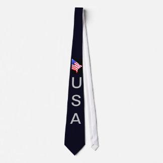USA American Flag Men's Patriotic 4th of July Tie