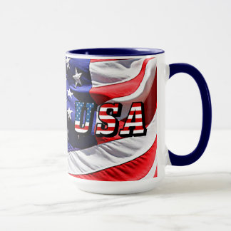 USA - American Flag Mug