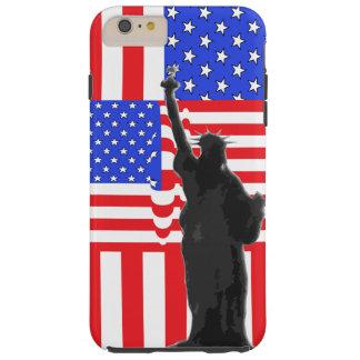 USA American Flag Patriotic America Freedom Tough iPhone 6 Plus Case