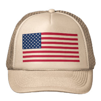 USA American Flag Patriotic Stars Stripes Hat Cap