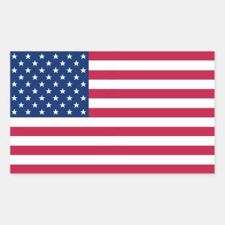 USA American Flag Patriotic Stars Stripes Sticker