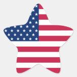 USA American Patriotic Stars Stripes Flag Sticker