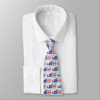 USA American Soccer Cleat Tie