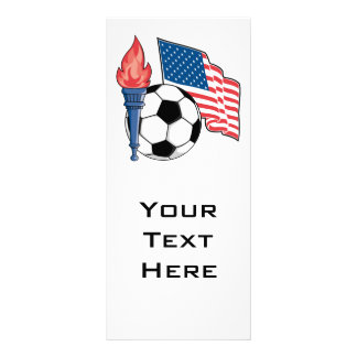 usa american soccer pride graphic custom rack cards