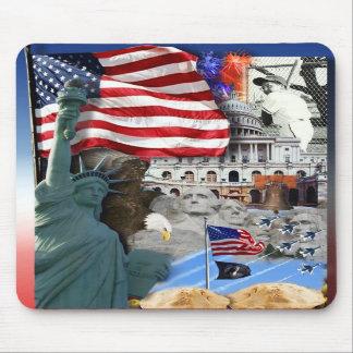 USA American Symbols Mousepad