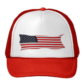 USA AMERICAN US FLAG Series Trucker Hats