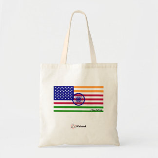 USA and India Tote Bag