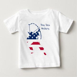 USA Archery American archer flag Baby T-Shirt