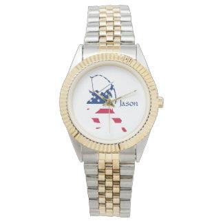 USA Archery American archer flag Watch