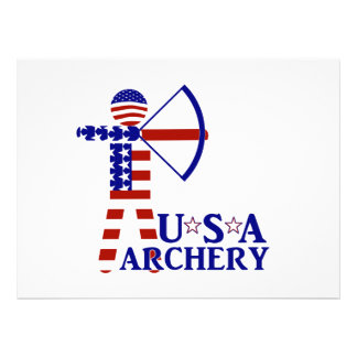 USA Archery Personalized Announcement