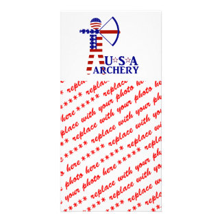 USA Archery Photo Greeting Card